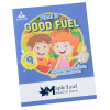Activity Book with Tattoos - Food is Good Fuel