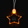 Light-Up Pendant Necklace - Star
