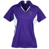 Side Blocked Micropique Sport-Wick Polo - Ladies' - 24 hr