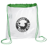 Clear Game Drawstring Sportpack