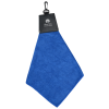View Image 1 of 3 of Triangle Fold Golf Towel