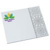 View Image 1 of 3 of Bic Color-In Paper Mouse Pad - Geometric