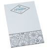 Bic Color-In Scratch Pad - Floral