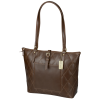 Cutter & Buck Bainbridge Quilted Leather Tote - 24 hr