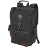 Alternative Deluxe Cotton Laptop Rucksack Backpack - 24 hr