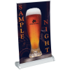 """View Image 1 of 3 of Breeze Tabletop Retractable Banner - 11"""""""