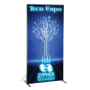 """View Image 1 of 11 of Vector Light Box Banner Stand - 36"""" - Single Side Graphics"""