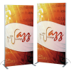 """View Image 1 of 10 of Vector Light Box Banner Stand - 36"""" - Double Side Graphics"""