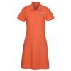 View Image 1 of 3 of Mayfair Dri-Balance Pique Polo Dress - Ladies'