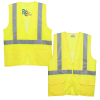 View Image 1 of 3 of Mesh Back Reflective Safety Vest