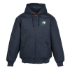 View Image 1 of 3 of Duck Canvas Hooded Work Jacket