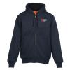 View Image 1 of 3 of Heavyweight Thermal Lined Full-Zip Hooded Sweatshirt