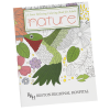 Stress Relieving Adult Coloring Book - Nature - 24 hr