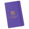"Moleskine Hard Cover Notebook - 8-1/4"" x 5"" - Ruled - Foil Stamp"