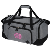 """View Image 1 of 3 of Graphite 21"""" Weekender Duffel - Embroidered"""