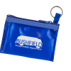 Key Ring Zippered Pouch - 24 hr