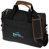View Image 1 of 3 of Kapston Jaxon Briefcase Bag - Embroidered