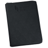 View Image 1 of 5 of Toscano Leather RFID Zippered Padfolio