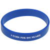 Printed Silicone Wristband - 24 hr