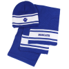 View Image 1 of 2 of Varsity Beanie and Scarf Set