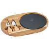 View Image 1 of 3 of Slate Cheese Board Set