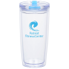 View Image 1 of 4 of Clearly Acrylic Travel Tumbler - 20 oz.