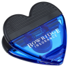 View Image 1 of 3 of Heart Power Clip - Translucent