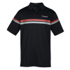 Callaway Patterned Stripe Performance Polo