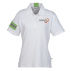 View Image 1 of 2 of Bamboo Brio Wicking Polo - Ladies'