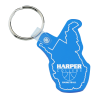 West Virginia Soft Keychain - Translucent