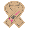 Cork Coaster - Awareness Ribbon - Full Color