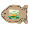 Cork Coaster - Fish - Full Color