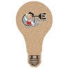 Cork Coaster - Light Bulb - Full Color