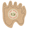 Cork Coaster - Paw - Full Color