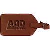 Navajo Canyon Leather Luggage Tag