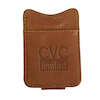 Copper Breaks Magnetic Leather Money Clip