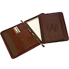 Oregon Canyon Leather Zippered Meeting Folder