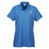 View Image 1 of 3 of Lightweight Classic Pique Polo - Ladies'