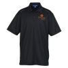 Reflective Accent Pinpoint Mesh Polo - Men's