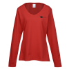Team Favorite 4.5 oz. V-Neck LS T-Shirt - Ladies' - Colors
