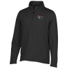 Brushed Back 1/4 Zip Microfleece Pullover