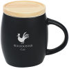 Hearth Ceramic Mug with Wood Lid Coaster - 14 oz.