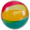"""View Image 1 of 3 of 16"""" Multicolor Translucent Beach Ball"""