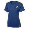 Colorblock Contender Tee - Ladies' - Embroidered - 24 hr