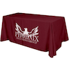 Flat 3-sided Table Cover - 6'