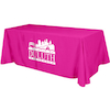 Flat 3-sided Table Cover - 8'