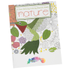 Stress Relieving Adult Coloring Book - Nature - Full Color