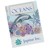 Stress Relieving Adult Coloring Book - Ocean - Full Color
