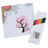 Coloring Book & Pencil Set - 24 hr