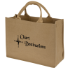 Washable Kraft Paper Fabric Tote - 12